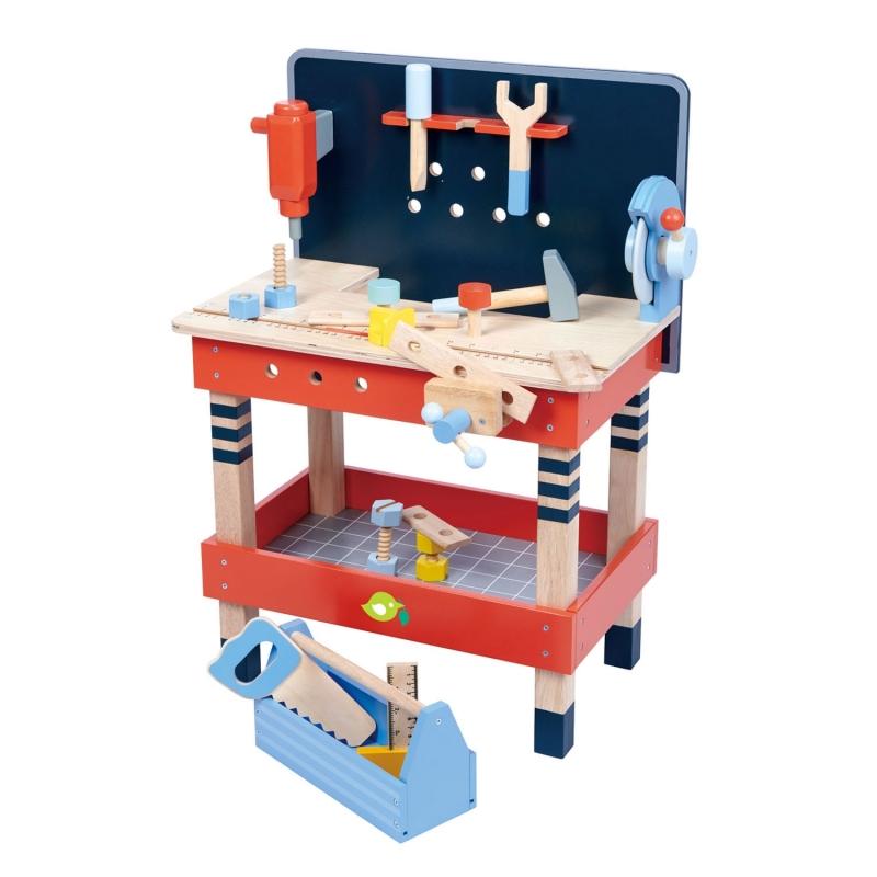 Atelier de lucru din lemn, 19 piese