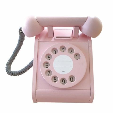 Telefon retro - roz