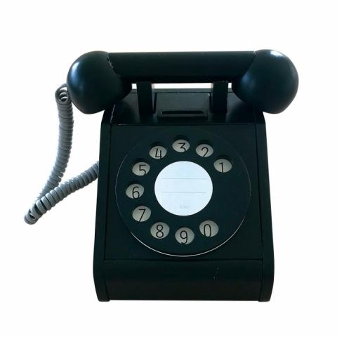 Telefon retro - negru