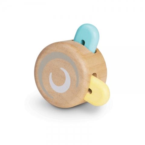 Jucarie din lemn pentru bebelusi - Rotita zornaitoare - Plan Toys