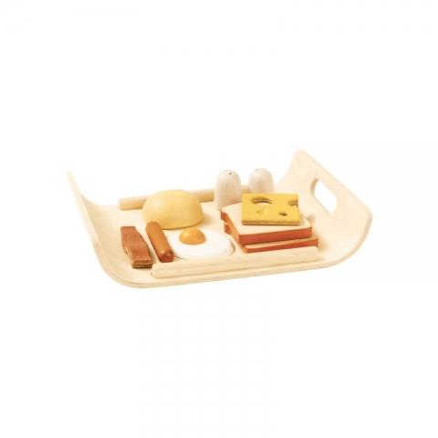 Set din lemn pentru micul dejun - Plan Toys