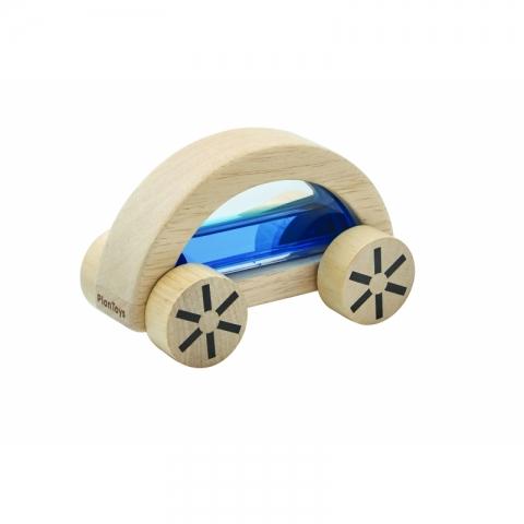 Masina din lemn cu lichid - Albastru - Plan Toys