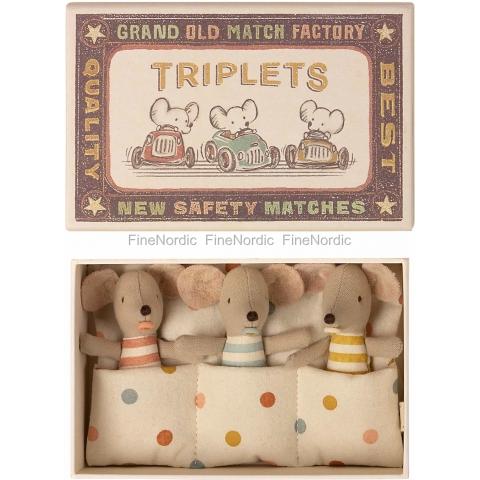 TRIPLETS, BABY MICE IN...